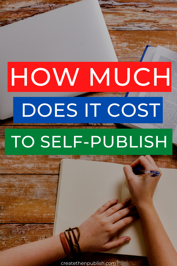 How Much Does It Cost Self-Publish A Book  Want to know exactly what you're getting into when it comes to self-publishing a book? Find out how much it really costs to do so right here!  #SelfPublishingABookTips #selfpublish #kindle #bookcost #CompleteGuideToSelfPublishing