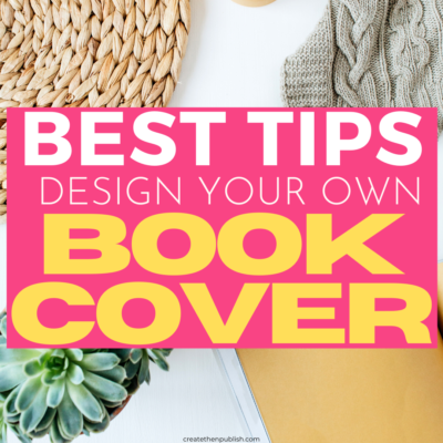 How To Design A Cover For A Self Published Book